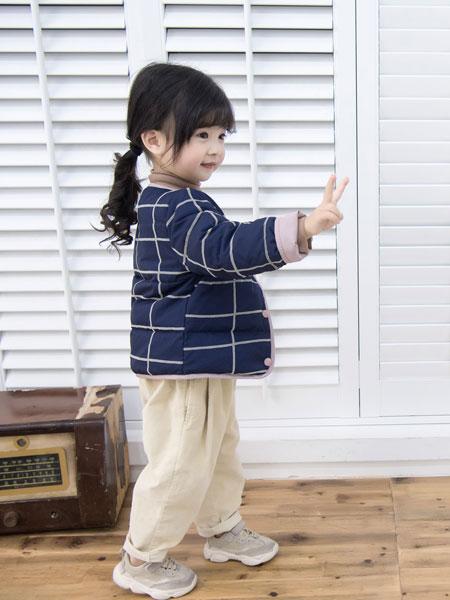 波波龙童装品牌2019秋冬新款学院风洋气公主韩版上衣