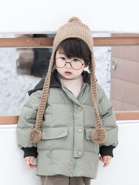 波波龙童装品牌2019秋冬棉服棉袄加厚中长款韩版