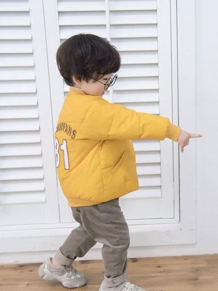 波波龙童装品牌2019秋冬棉服加厚棉袄嘻哈潮牌外套