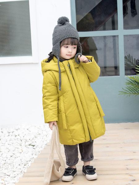 波波龙童装品牌2019秋冬新品韩版修身棉服宽松棉袄潮