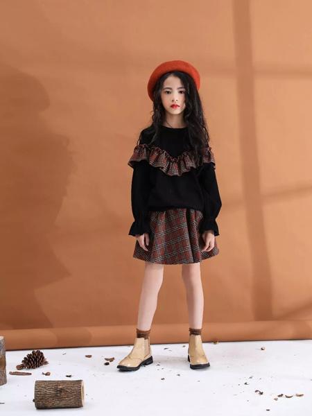 兔子杰罗童装品牌2019秋季新款韩版洋气时尚套装