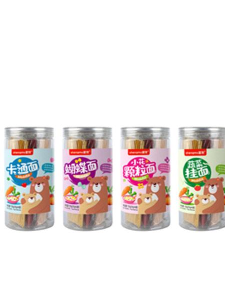 圣牧婴儿食品圣牧罐装鲜蔬面系列