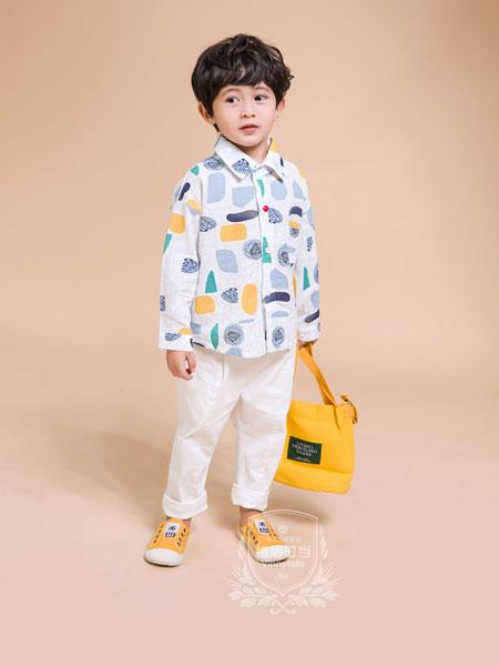 维尼叮当童装品牌2019秋季韩版洋气衬衣儿童个性长袖衬衫潮