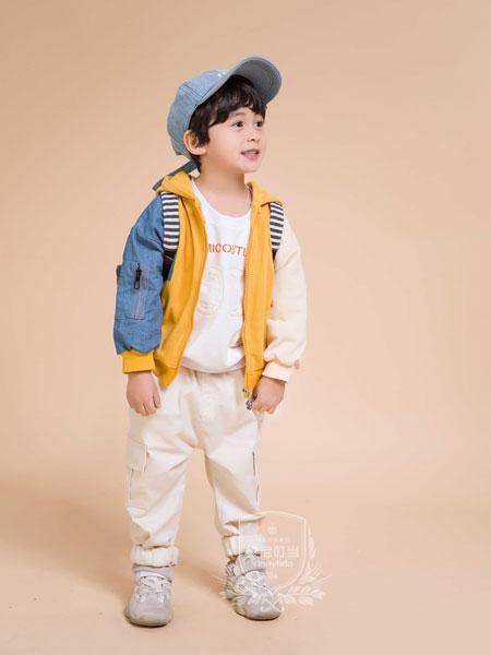 维尼叮当童装品牌2019秋季新款韩版儿童洋气时髦潮