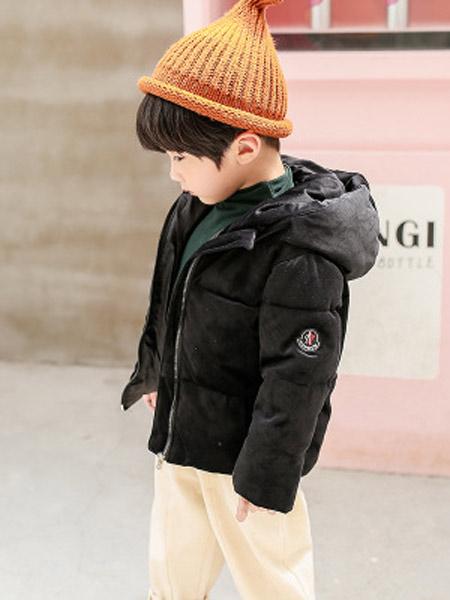 寒盾童装品牌2019秋冬新款韩版时尚洋气羽绒服外套