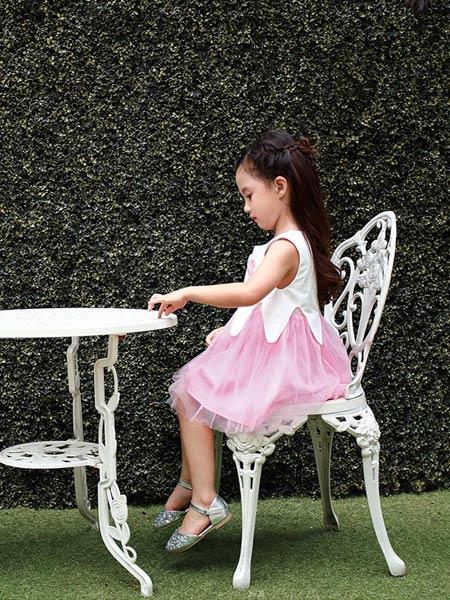 佐米熊童装品牌新款洋气清新公主裙连衣裙
