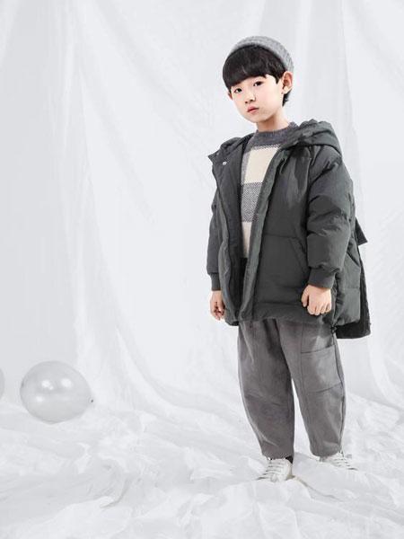 宠来宠趣童装品牌2019秋冬新款儿童加厚中长款羽绒棉