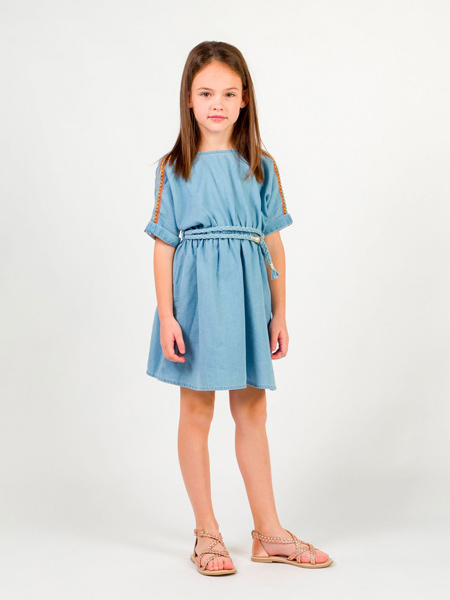 Carrément Beau童装品牌2019春夏新款韩版宽松大码连衣裙