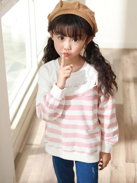 西瓜王子童装品牌2019秋季新款韩版长袖百搭上衣打底衫