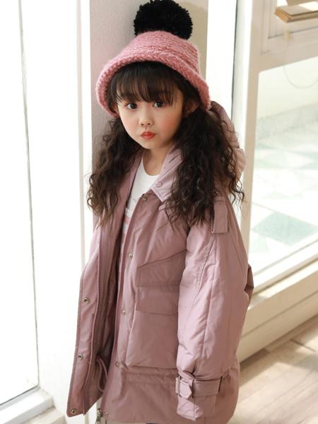 西瓜王子童装品牌2019秋季新款韩版宽松中长款时尚外套潮