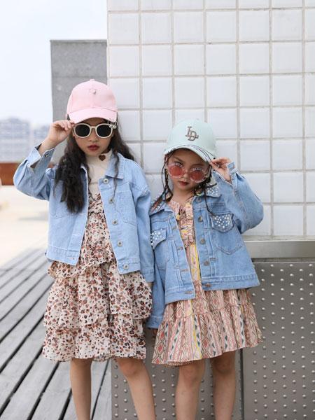 拉斐贝贝童装品牌2019秋季韩版短款洋气开衫儿童
