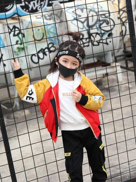 拉斐贝贝童装品牌2019秋季新款两件套中大童韩版