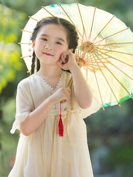 桐花坞童装品牌2019春夏新款中国风连衣裙短袖超仙改良儒裙汉服裙子
