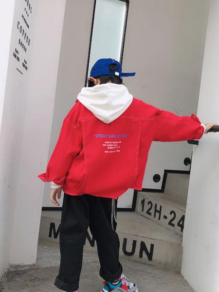 说与童装品牌2019秋季纯棉潮流潮牌外套