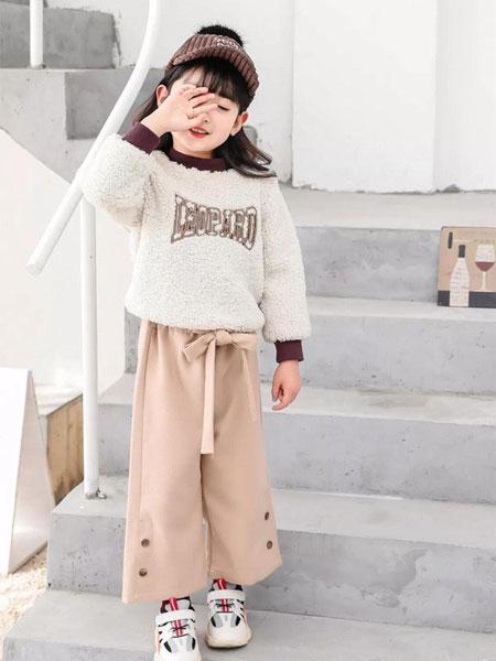 棉来啦童装品牌2019秋季女童仿皮草卫衣外套加绒加厚公主洋气毛绒衣套头圆领上衣