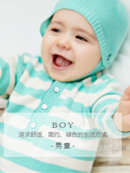 chilicu童装品牌2019春夏绿色带帽开衫外套