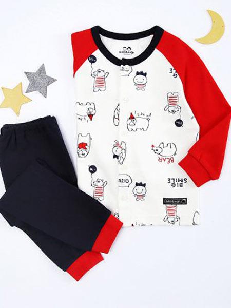 ALFONSO童装品牌2019秋季中大童纯棉休闲潮短裤外穿薄款儿童运动裤加卡通图案上衣两件套