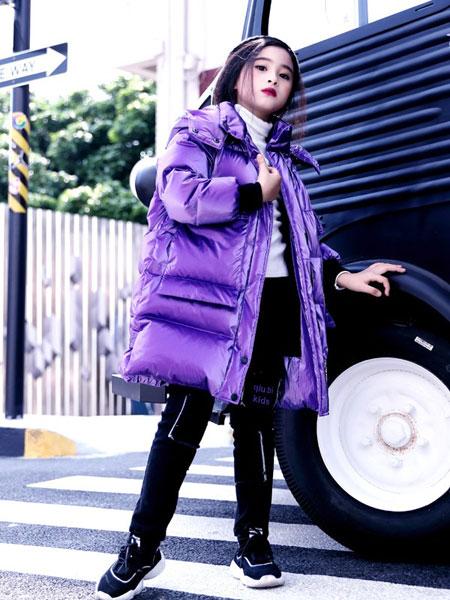 快乐丘比童装品牌2019秋冬韩版时尚显瘦学生宽松bf棉服棉袄外套潮