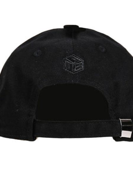 Hatson童装品牌2019春夏新款运动帽黑色鸭舌