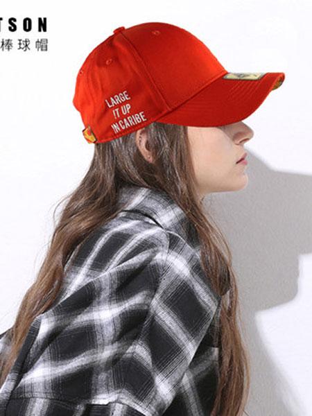 Hatson童装品牌2019春夏韩版新款潮牌运动帽韩版弯檐棒球帽