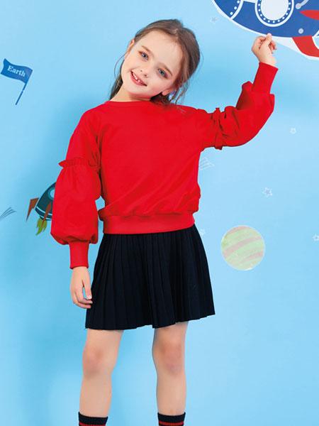 欧布豆童装品牌2019秋冬韩版潮衣时髦中大童儿童运动两件套
