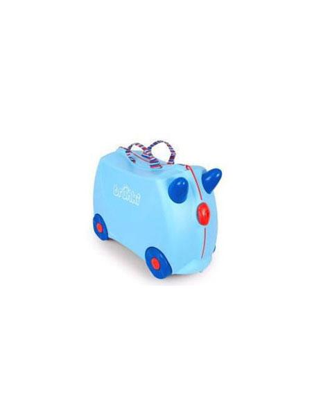 宝宝王国进口母婴优选婴童用品儿童行李箱旅行箱小孩卡通宝宝储物玩具登机箱可当坐骑