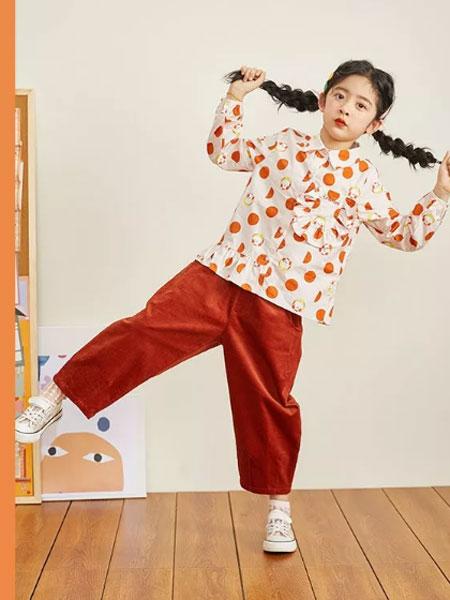 Viciusss童装品牌2019秋冬可爱女童翻领纯棉长袖波点衬衫 清新女孩荷叶边下摆打底上衣