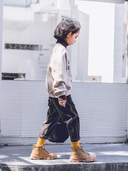 韩米娜风尚童装品牌2019秋冬时尚潮流韩风两件套