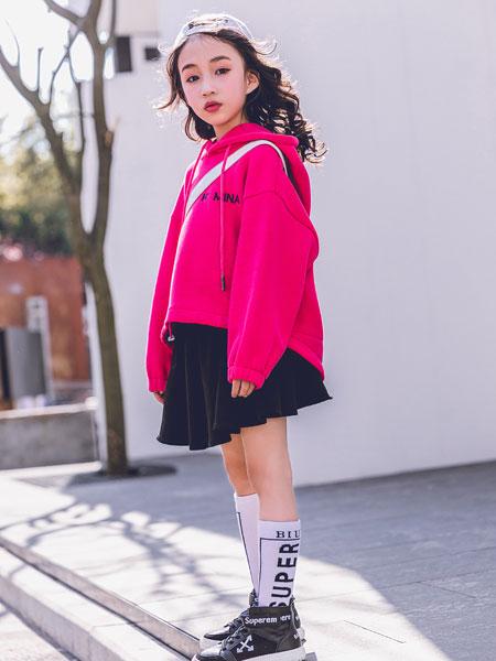 韩米娜风尚童装品牌2019秋冬超火的纯棉毛圈薄款羽绒服韩版潮学生宽松