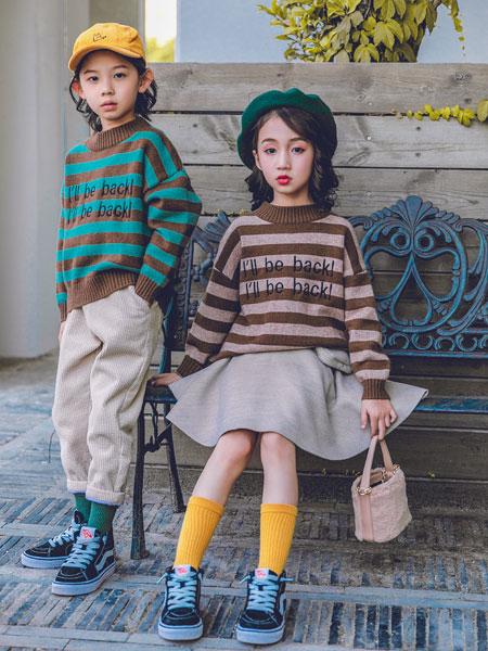 童装店日韩系风格童装款式找杭州韩米娜风尚