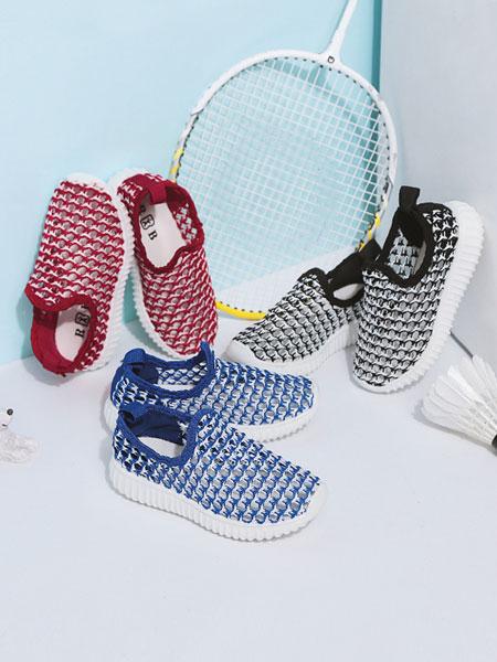 人本鞋业童鞋品牌2019春夏针织潮流鞋子