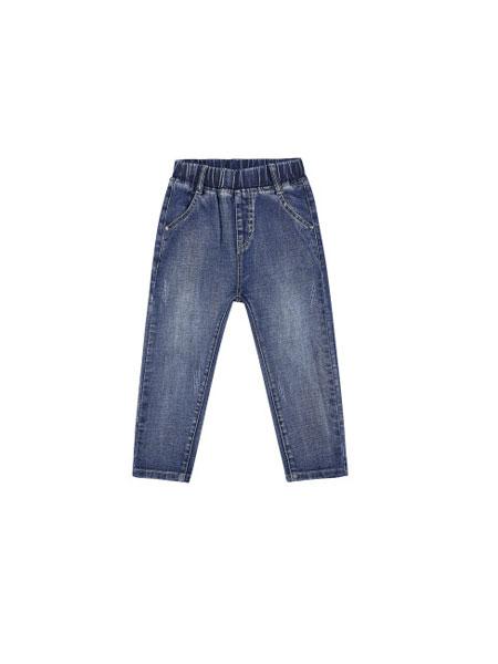 凡品童装品牌2019春夏新款长裤中大儿童男孩洋气牛仔裤潮裤