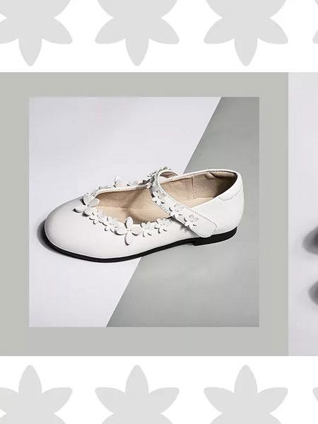 诺米洛童鞋品牌2019春夏新款真皮表演出鞋透气软底公主鞋