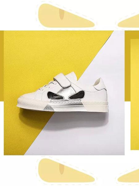 诺米洛童鞋品牌2019春夏女童鞋子男童儿童运动小白鞋休闲板鞋