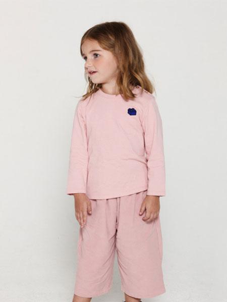 Choco. el童装品牌2019春夏喂奶衣加厚孕妇睡衣套装家居服