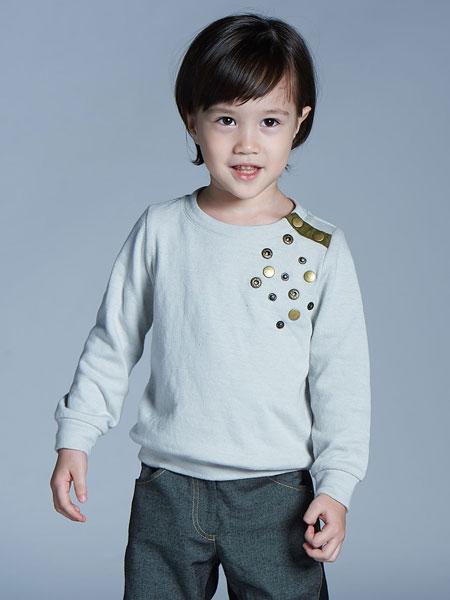 baby baby cool童装品牌2019秋冬新款中大童宽松印花打底衫潮