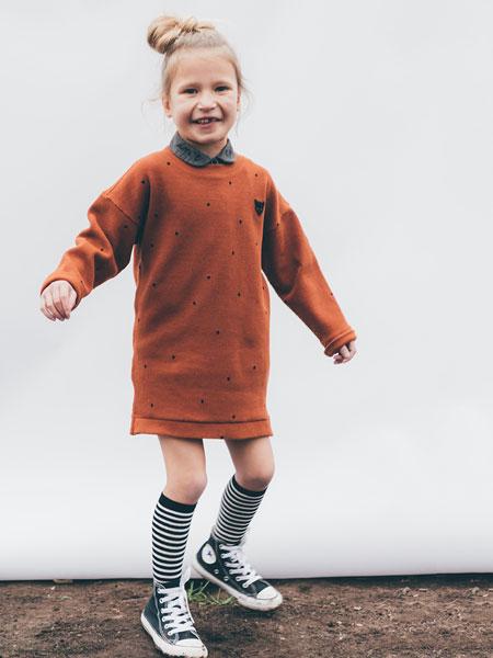 Sproet & Sprout童装品牌2019秋冬条纹长袜时尚保暖