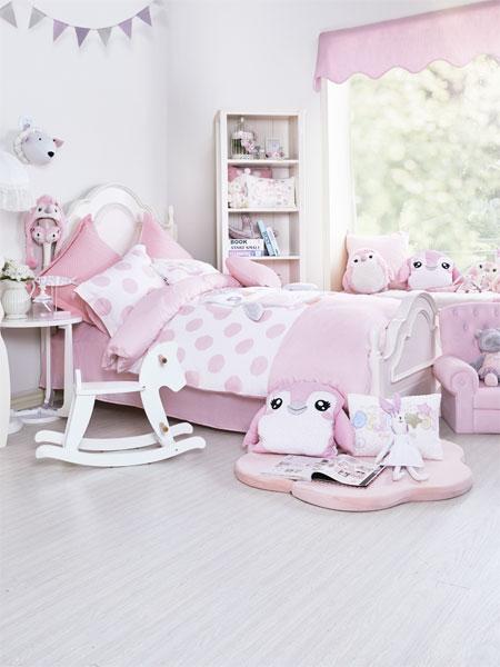 梦洁宝贝青少年儿童家具卡通儿童房装饰画女孩房间挂画公主房卧室床头壁画