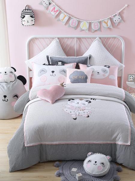 梦洁宝贝青少年儿童家具可爱小女生房全套