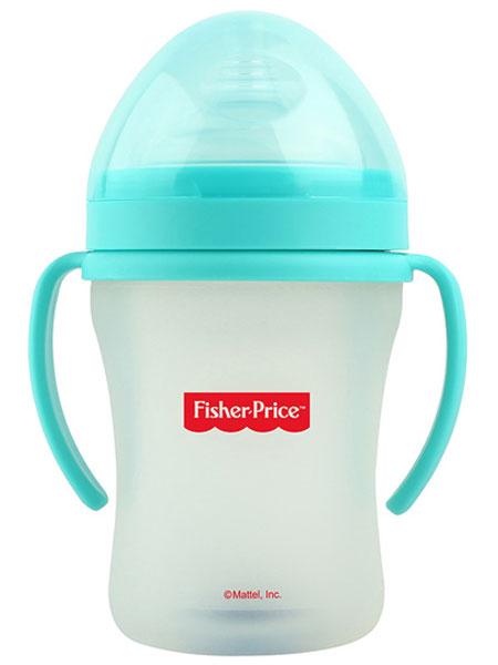 费雪婴童用品硅胶奶瓶(超大口径)(240ml)