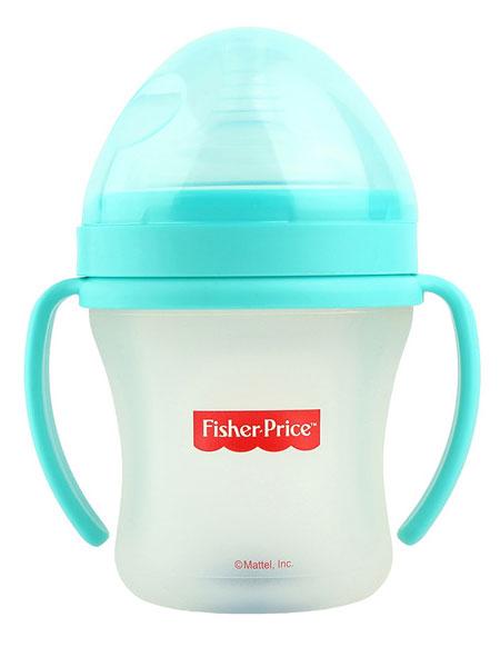 费雪婴童用品硅胶奶瓶(超大口径)(180ml)