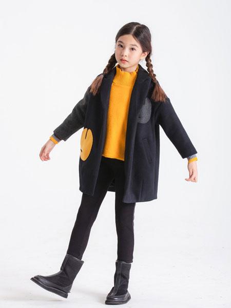 LIEN童装品牌2019秋冬儿童大衣女童大衣韩版洋气长款学生