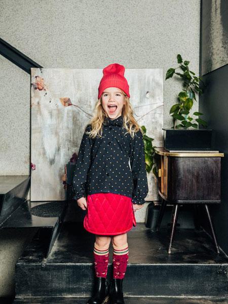 Paade Mode童装品牌2019秋冬时尚潮流两件套