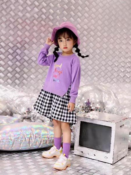 叮当猫潮童童装品牌2019秋冬新款纯棉中大童洋气韩版套装
