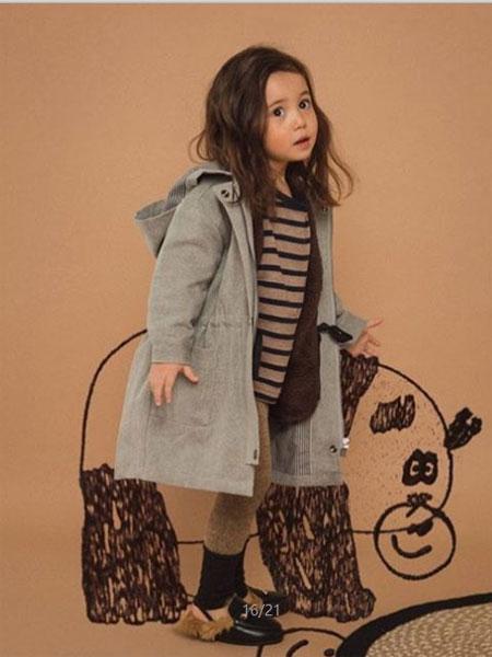Limitedoudou童装品牌秋冬灰色潮流小女孩外套