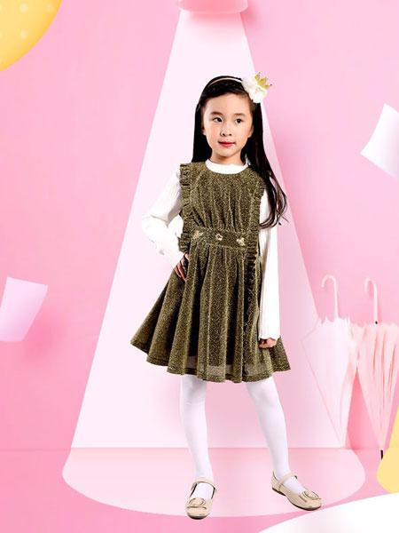 帕贝莎娜pabasana童装品牌2019秋冬气质小女孩裙