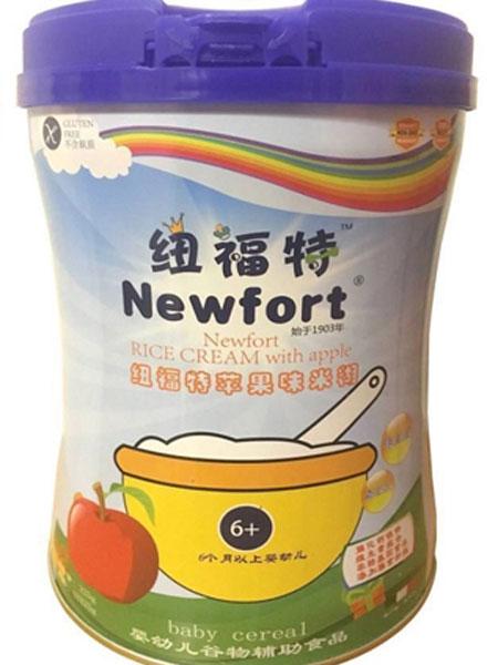 纽福特婴儿食品婴幼儿营养米粉(苹果味)