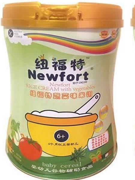纽福特婴儿食品婴幼儿营养米粉(蔬菜味)