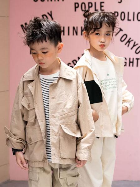 衣城优品童装品牌2019秋冬纯棉时尚韩版套装