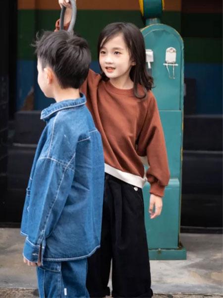 衣城优品童装品牌2019秋冬纯棉可爱小女生装